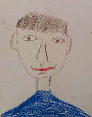 Selbstportrait als Kleinkind, ca. 1962