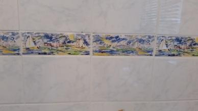 Bordüre WC EG