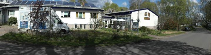 Frontansicht Panorama Kunsthaus Schwanheide